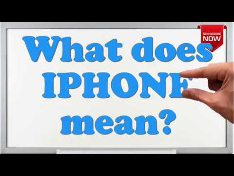 What Is The Full Form Of Iphone Youtube