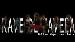 MC_Lan, Major Lazer, Anitta  - Rave de Favela / Funk Choreo for zumba by JOSE SANCHEZ, Berlin