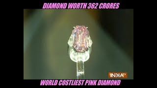 Pink diamond sells for more than $50M at auction, setting world record