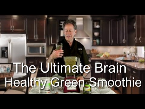 The Ultimate Brain-Healthy Green Smoothie