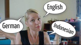 How we raise our children bilingual / trilingual (German, English, Indonesian) | Coffee with Nani