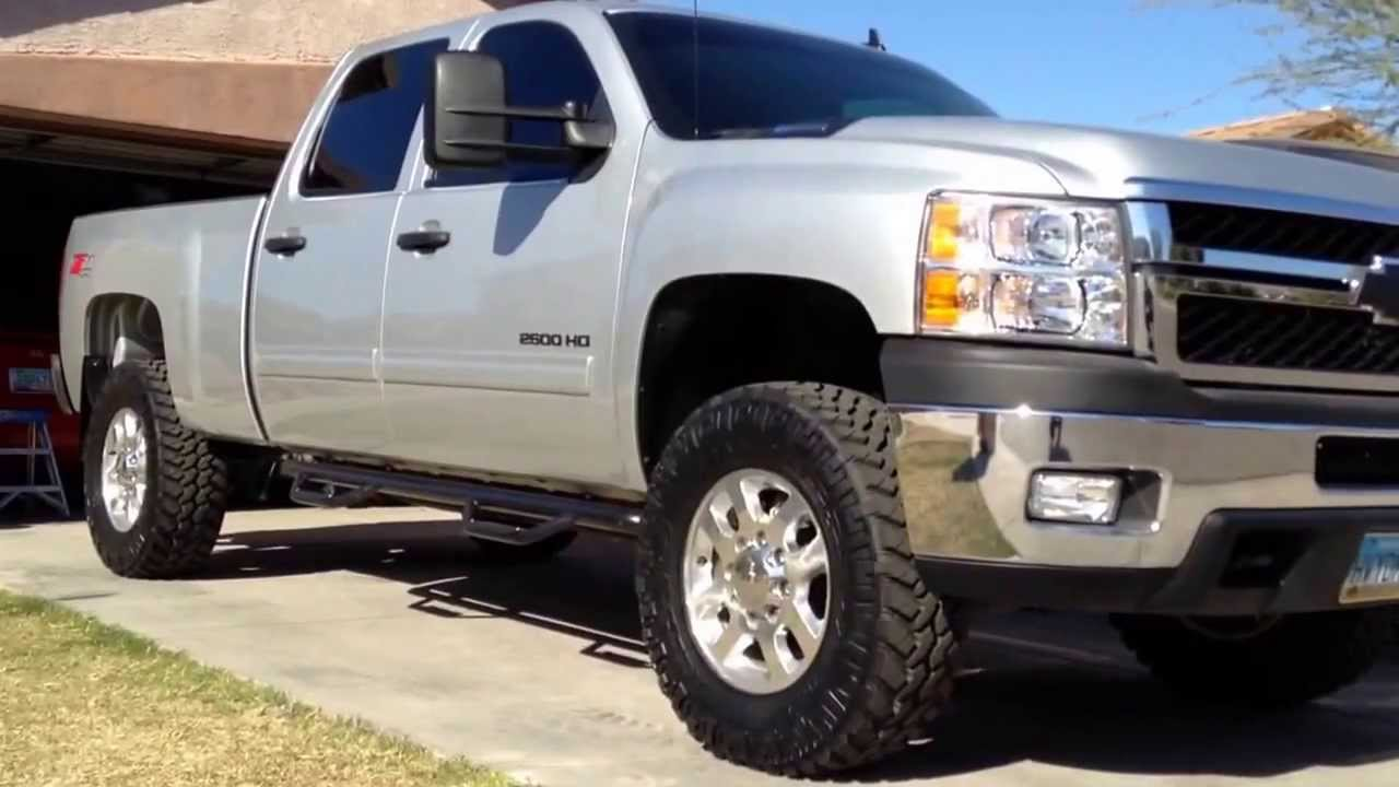 2013 Silverado 2500HD Duramax LML Walk Around. - YouTube