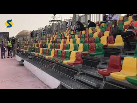 داخل ملعب مباراة المغرب و موريتانيا بنواكشوط