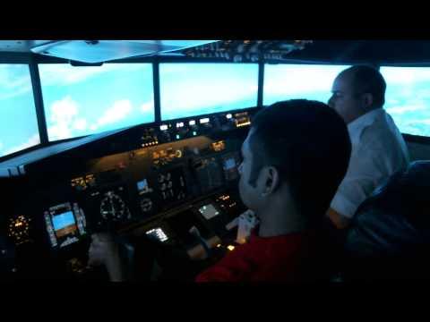 Flight simulator Dublin Airport New 2014