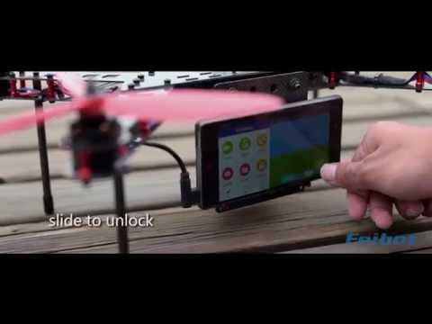 Drone Control system based on android smartphone