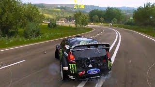 Forza Horizon 4 - Hoonigan Gymkhana 8 Ford Fiesta ST RX43 2015 - Open World Free Roam Gameplay HD