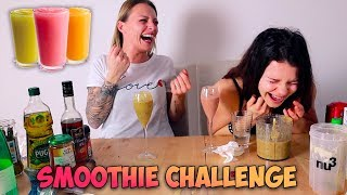 SMOOTHIE CHALLENGE (Ft. L'Atelier de Roxane)
