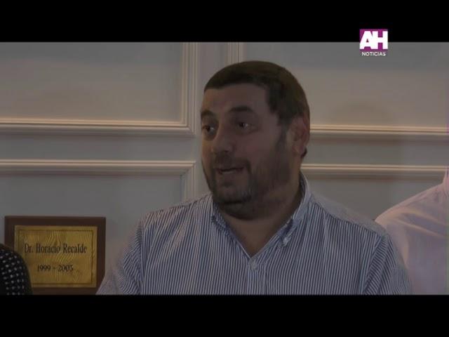 IGNACIO ORSINI   MARIA DEL VALLE AIOLA   RUBEN CRUZ   CONFERENCIA DE PRENSA SOBRE EL FALLO ANTE LA A