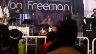 Joshua Abrams Quartet, live at Chicago Jazz Festival, 2014 (Von Freeman Stage)