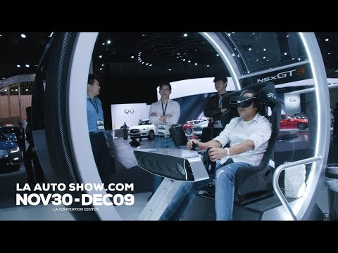 Interactive Experiences & Gaming At The 2018 LA Auto Show