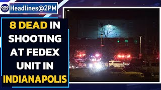 Indianapolis: Gunman opens fire near Fedex facility, atleast 8 dead | Oneindia News