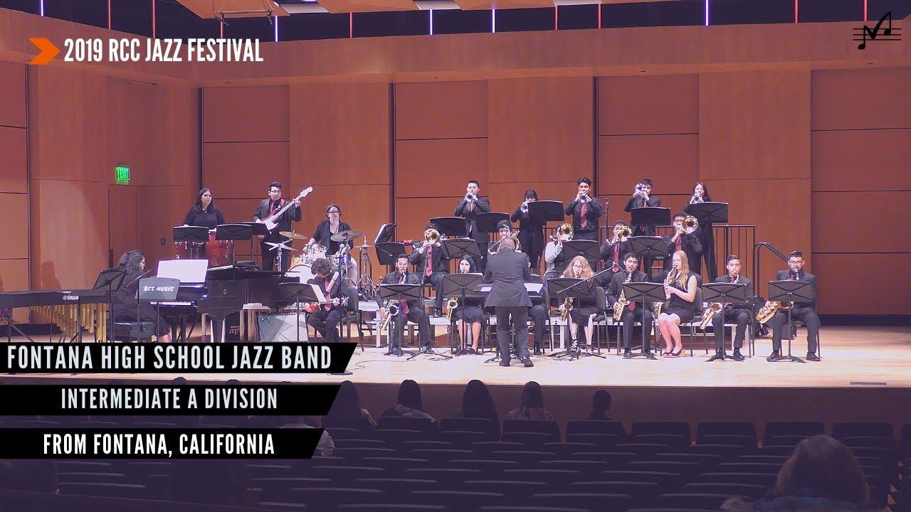 Fontana HS Jazz Band | 2019 RCC Jazz Festival