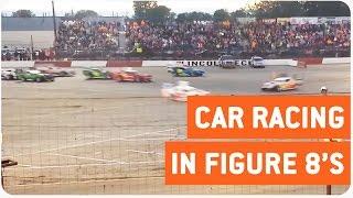 Insane World Figure 8 Enduro Car Race