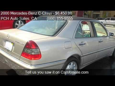 2000 Mercedes-Benz C-Class C230 Supercharged 4dr Sedan for s