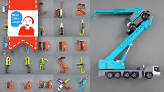 Learning letters with Street Vehicles for kids with tomica (Lower Case)