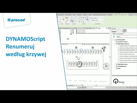DYNAMOScript - Renumeruj według krzywej