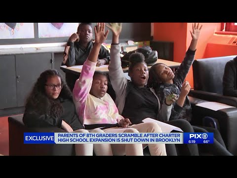 Hundreds of students left scrambling after state abruptly shuts down Brooklyn charter school`s expan