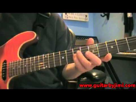 Rush/Alex Lifeson-How to play YYZ Main Riffs on Guitar-Guitar Lesson Note for Note Off the Record