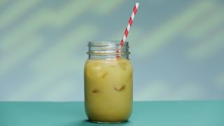 Iced Golden Milk Recipe For a Speedy Workout Recovery | Glow