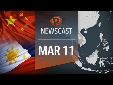 Rappler Newscast: China blocks PH ships, Napoles medical, MH370 stolen passport