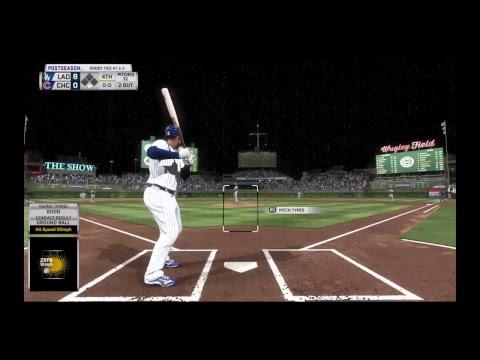 MLB 17 CUBS VS DODGERS ITS DONE WE WIN