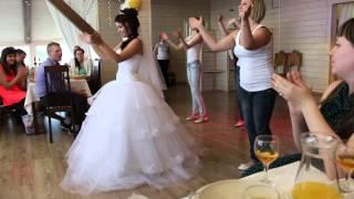 Танец невесты и подружек для жениха :D
