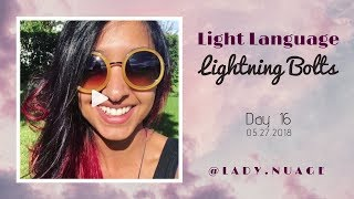 Light Language - Lady Nuage - Lightning Bolt #16