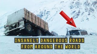 INSANELY Dangerous Roads!