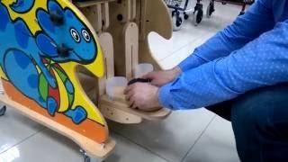 видео Вертикализатор для детей с ДЦП