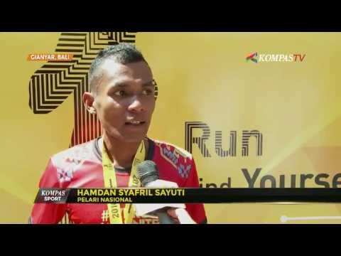 Hamdan Syafril Juara Lari Tiga Kali Beruntun