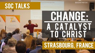 Sermon: Change - A Catalyst for Christ | Responding to Life's Transitions God's Way (@RebirthofSOC)