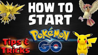How To Start Pokemon Go – Beginners Guide Video with Tips and Tricks