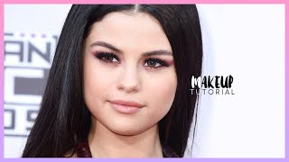 selena gomez 2015 amas inspired makeup tutorial