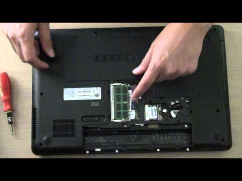 HP 630 Laptop: How to Insert / remove a Memory Module
