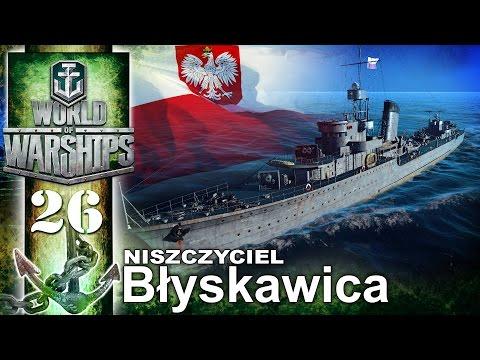 Niszczyciel Błyskawica - BITWA - World of Warships