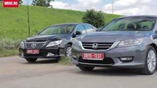 2013 Honda Accord vs. Toyota Camry — За кадром
