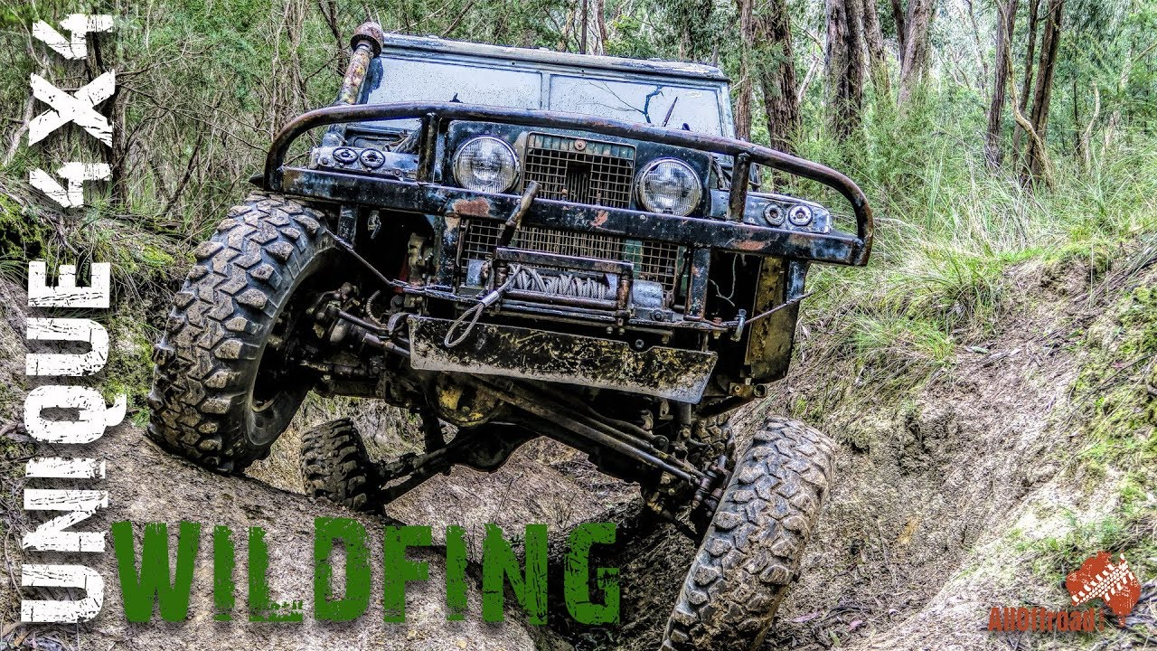 BEST Landrover Series 2a | FLEX MONSTER | UNIQUE 4x4 | WiLdFiNg | ALLOFFROAD #129