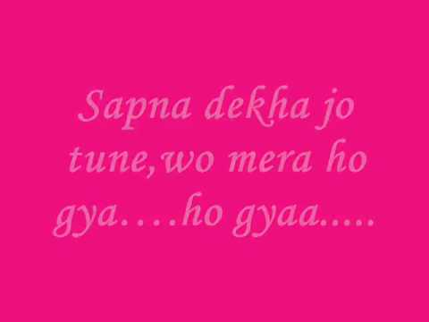 Hona Tha Pyar   Lyrics   Atif AslamH