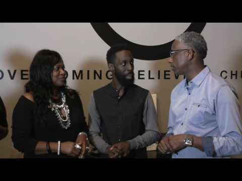 Pastor Daryl Arnold Interviewing Tye Tribbett post Service Sept 29 2016