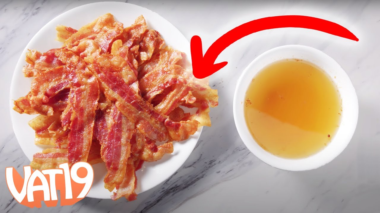 Will it Clog? So. Much. Bacon.