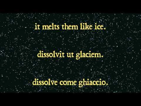 O Fortuna - Carmina Burana | English Latin Italiano Lyrics Testo - @Briccioledinfo