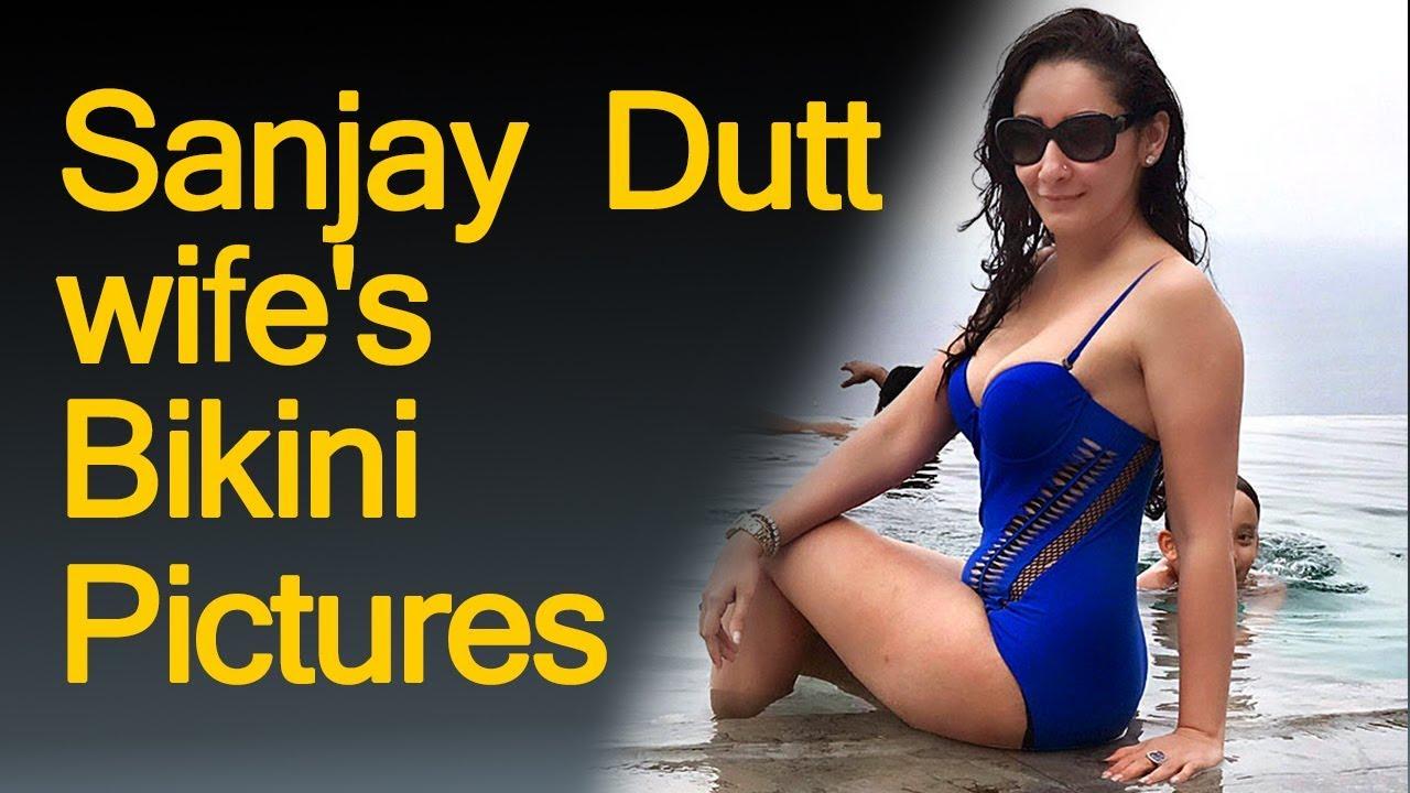 Sanjay Dutt upset over wife's bikini pictures |Manyata ...