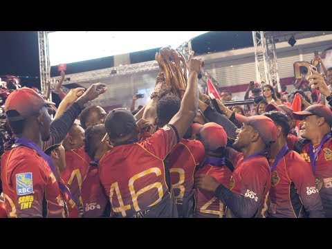 HERO CPL CHAMPIONS 2017 | TRINBAGO KNIGHT RIDERS | TKR