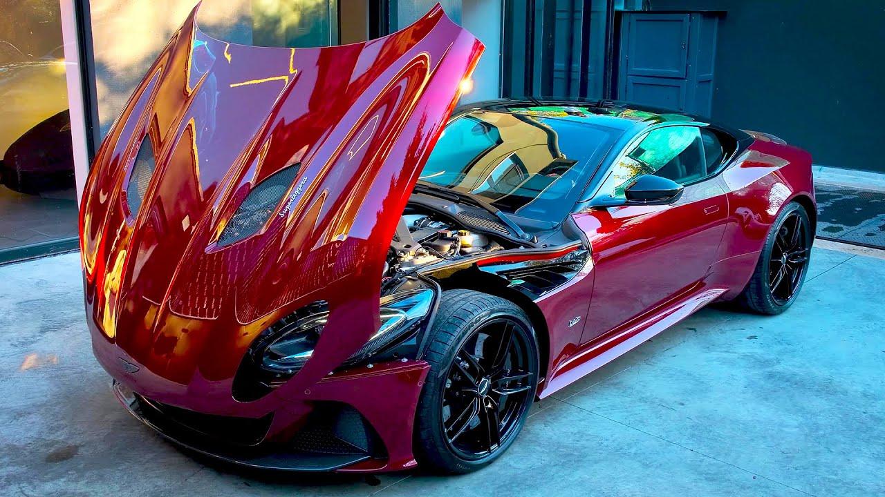 2021 Aston Martin Dbs Superleggera Wild Coupe Youtube