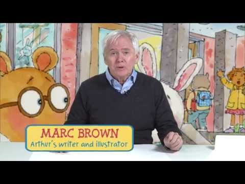 Learn to draw Arthur with Marc Brown! - YouTube
