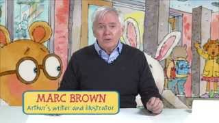 Learn to draw Arthur with Marc Brown!