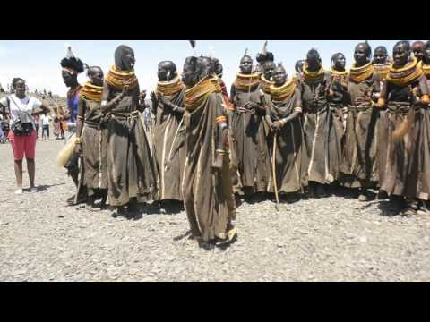 Turkana women dancing their song