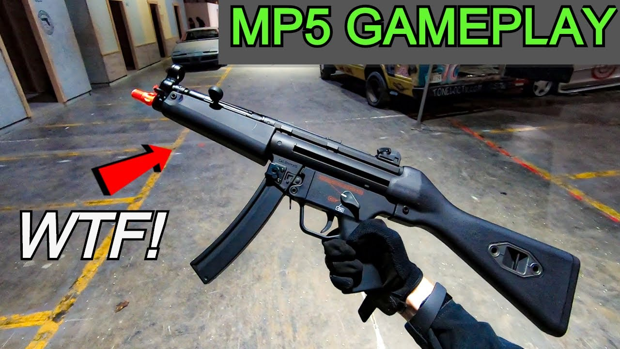 MP5 CQB GAMEPLAY 2020! *Airsoft War/Review?*
