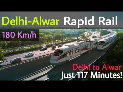 Delhi—Alwar Rapid Rail || Delhi to Alwar in 117 Minutes || RRTS NCRTC