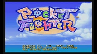 Pocket Fighter (PSX) - Longplay
